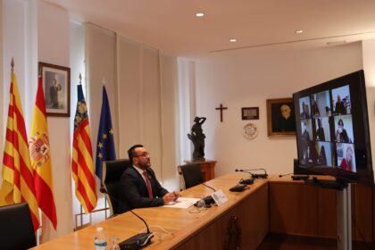 Vila-real recupera els actes institucionals posposats per la pandèmia amb un intens calendari oficial adaptat a la covid-19