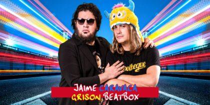 Jaime Caravaca i Grison Beatbox de 'La Resistencia' arriben al Teatre Payà
