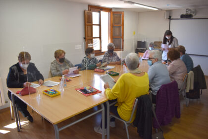 El taller de memòria de Morella recupera l'activitat presencial