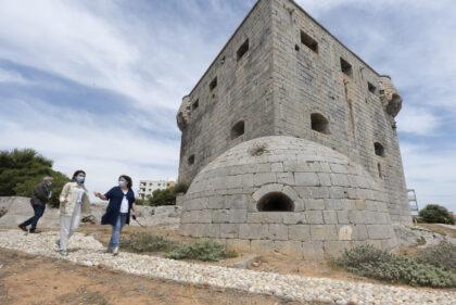 La Diputació de Castelló estudia el pla d'obra per a la remodelació de la Torre del Rei en col·laboració amb l'Ajuntament d'Orpesa