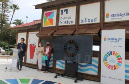 Benicàssim inaugura l'Aula de Sostenibilitat i Educació Ambiental