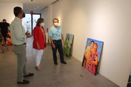 Luis Bolumar porta la seua alegria de viure al Centre Cultural Melchor Zapata de Benicàssim