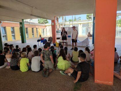 Castelló ensenya sobre hàbits saludables, l'horta i l'entorn natural a 3.000 alumnes en la campanya de Eduquem en Verd