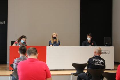 Castelló reforça la vigilància policial per a vetlar pel compliment de les mesures de prevenció davant la covid-19