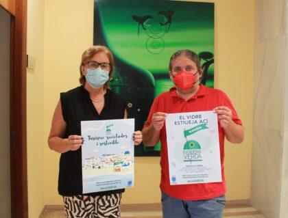 Borriana competeix aquest estiu per aconseguir la Bandera Verda d'Ecovidrio
