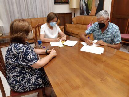 Benicarló renova un any més el conveni amb el Consell Regulador de la Carxofa