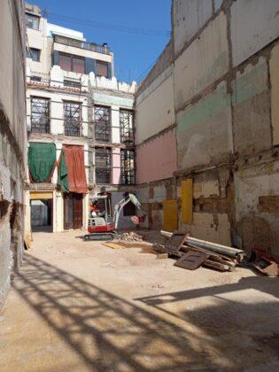 Castelló ultima els treballs d'enderrocament previs a la fonamentació del nou Centre d'Envelliment Actiu i Saludable