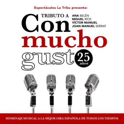 'Con Mucho Gusto' arriba a Sagunt per a rememorar cançons atemporals de la música espanyola