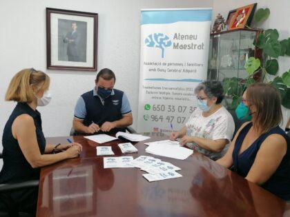 L'Ajuntament de Peníscola i Ateneu han renovat el seu conveni de col·laboració
